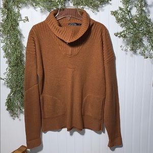 The Limited Ribbed Long Sleeve Sweater